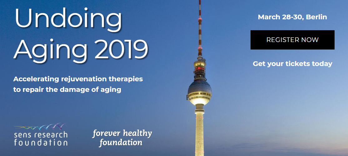 Podcast Special Edition: Previewing The 2019 Undoing Aging Conference